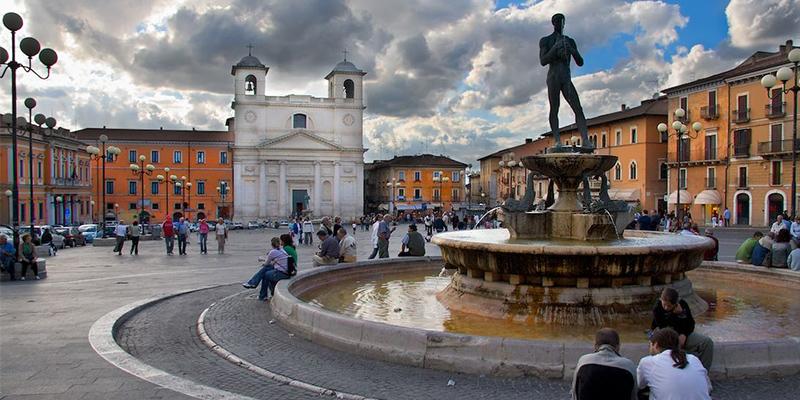 L'Aquila town